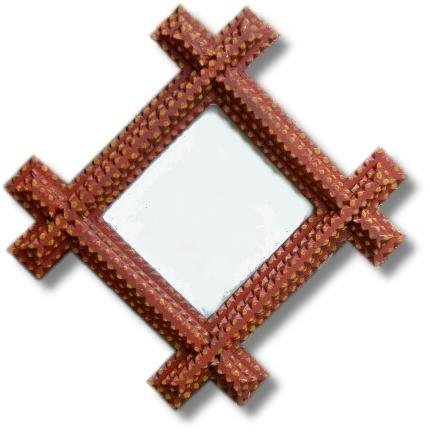 tramp art frames by daniel strawser jr